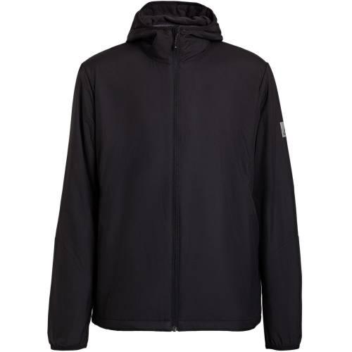 Куртка мужская Outdoor с флисовой подкладкой, черная