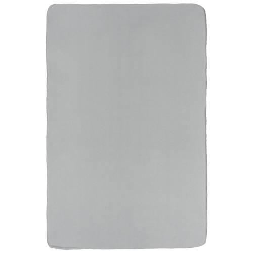 Флисовый плед Warm&Peace, серый