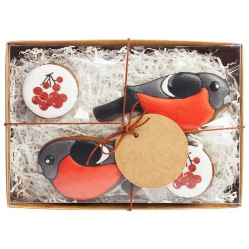 Набор имбирного печенья Fire Birds