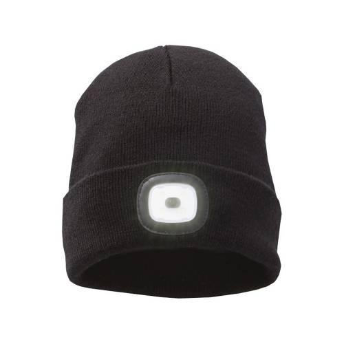 Лыжная шапка со светодиодом