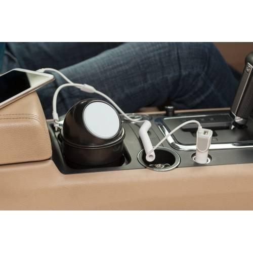Автомобильное зарядное устройство High Ride, белое