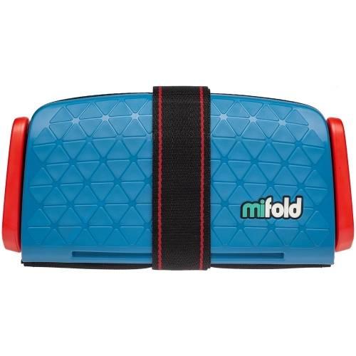 Автокресло-бустер Mifold, синее