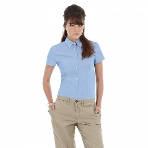 Рубашка женская с коротким рукавом Oxford SSL/women