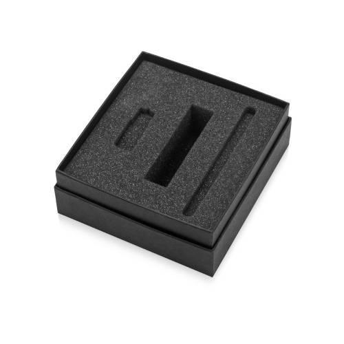 Коробка с ложементом Smooth M для зарядного устройства, ручки и флешки