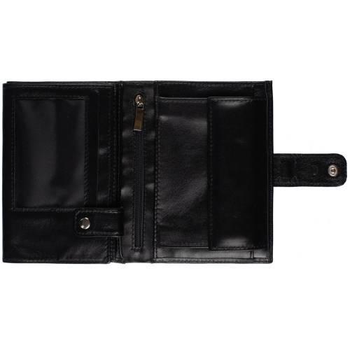 Автобумажник с отделением для паспорта CardLeone