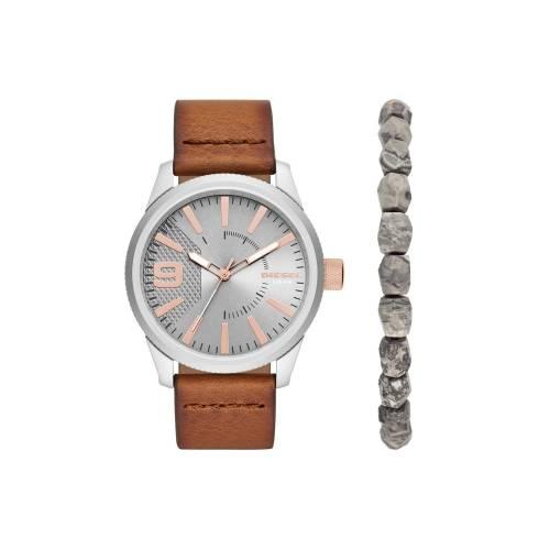 Подарочный набор: часы наручные мужские, браслет