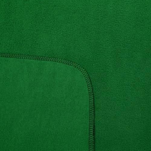 Флисовый плед Warm&Peace, зеленый