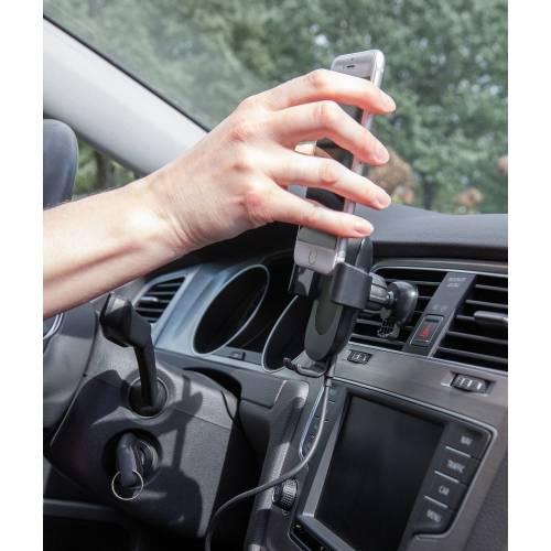 Автомобильный держатель с функцией беспроводной зарядки, 5W