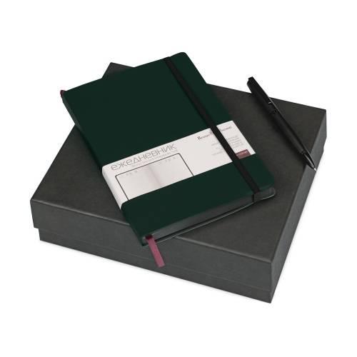 Подарочный набор «Megapolis Soft»: ежедневник А5 , ручка шариковая