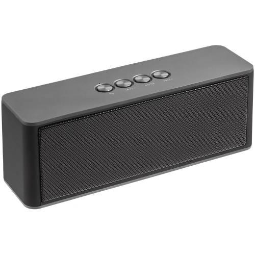 Беспроводная стереоколонка Uniscend Cube Rock, темно-серая