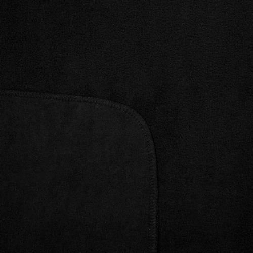 Флисовый плед Warm&Peace, черный