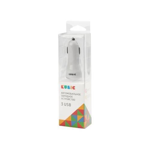 Адаптер автомобильный USB«Kubic A3»