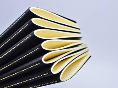 Простроченные (сшитые на нитку) блокноты